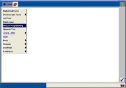 1. Dopo aver installato il software IDS sul laptop / computer, selezionare la casella degli strumenti >> programmazione del modulo.