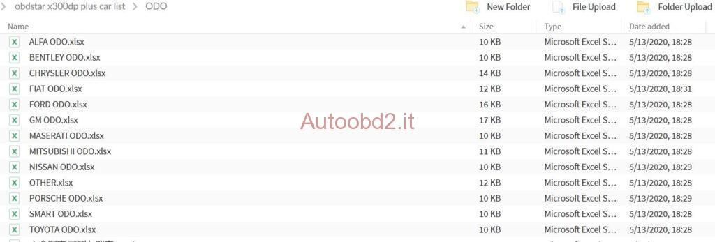 obdstar x300dp plus carlist-02